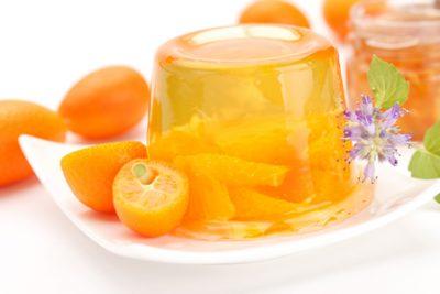 Sobremesa de gelatina de agar agar
