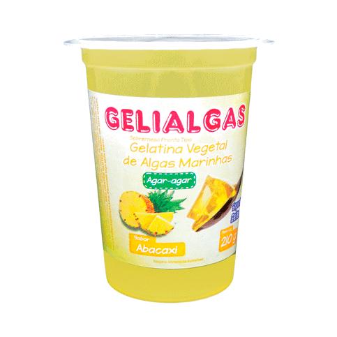 Gelatina Sabor Abacaxi de 210g