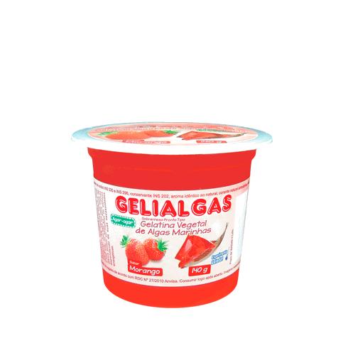 Gelatina Sabor Morango de 140g