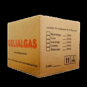 Caixa de Gelatinas de 210g